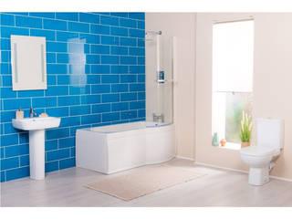 Baños de estilo  por Bathroom Takeaway, Minimalista