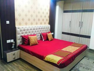 Flat interior at Jaipur:   by Studio 6,