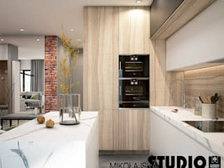 MIKOŁAJSKAstudio Dapur built in