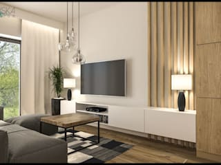 GACKOWSKA DESIGN Modern living room