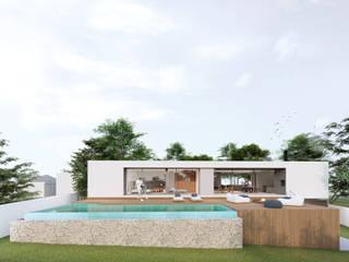 Casa MMM Casas modernas por Brune Arquitetura Moderno