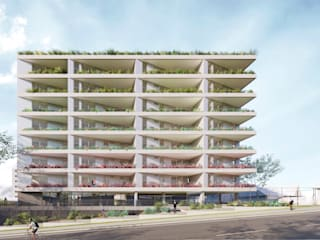 Ed. Residencial Weefor por Brune Arquitetura