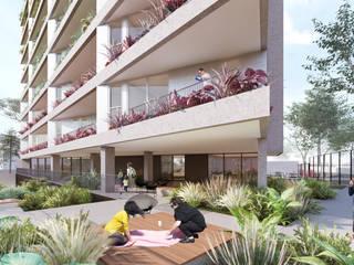 Ed. Residencial Weefor Jardins modernos por Brune Arquitetura Moderno