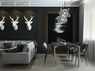 Гостиная Гостиная в стиле минимализм от Dots Interior Минимализм