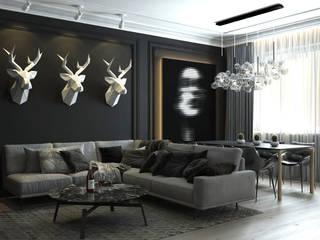 Гостиная Гостиная в стиле модерн от Dots Interior Модерн