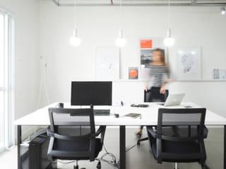 Escritório BA+AB Escritórios minimalistas por Brune Arquitetura Minimalista
