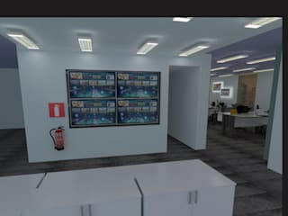 Offices & stores by AnnitaBunita.com, Modern