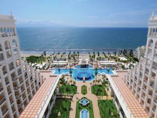 RIU Palace Puerto Vallarta JSF de México Landscaping Jardines tropicales