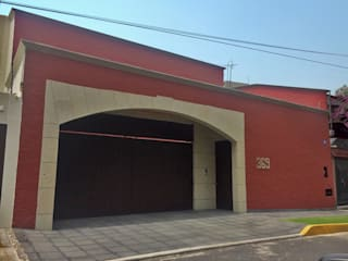 Casa Coyoácan: Casas unifamiliares de estilo  por rolascoaga / estudio de arquitectura, Colonial