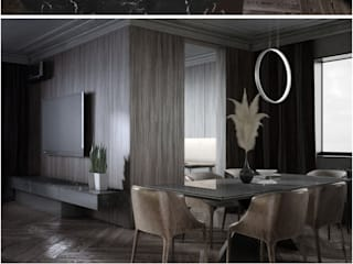 Black interior for IT: Кухни в . Автор – Order Interior,