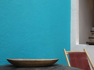 Loft Condesa: Terrazas de estilo  por rolascoaga / estudio de arquitectura, Moderno