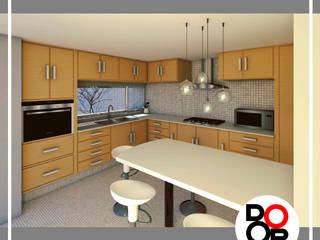 CASA M/M | 2019 Cocinas minimalistas de DOOR Arquitectos Minimalista