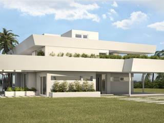 Casa Nautica: Casas de estilo  por Maximiliano Lago Arquitectura - Estudio Azteca,