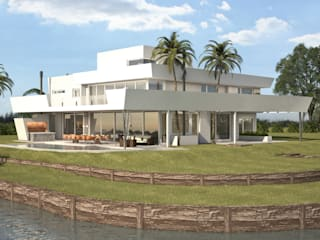 Maximiliano Lago Arquitectura - Estudio Azteca Modern houses