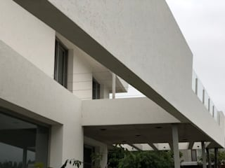 Casa Nautica: Paredes de estilo  por Maximiliano Lago Arquitectura - Estudio Azteca,