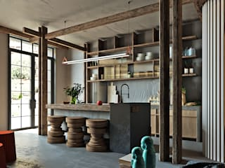 Kitchen by Entalcev Konstantin, Rustic
