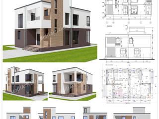Проект частного дома от MollyArt Минимализм
