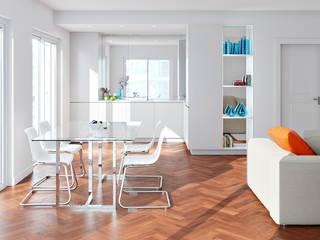 Modern living room by Zero Point Visuals Modern