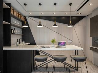 Ruang Keluarga Modern Oleh 在家空間設計 Modern