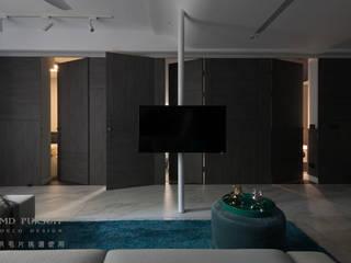 燭光  Candlelight:  客廳 by 肯星室內設計, 現代風
