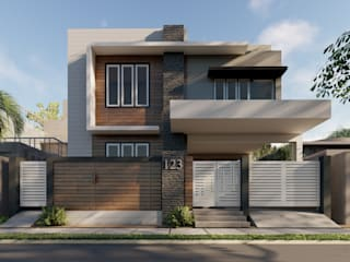 Syed Ali residence by Studio CAVE Minimalist