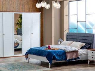 YILDIZ MOBİLYA – Başak Country Yatak Odası - 5 Kapılı:  tarz Yatak Odası,