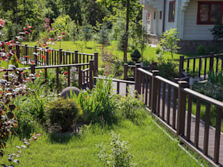 Аносино Сад в стиле модерн от Благородный сад Модерн