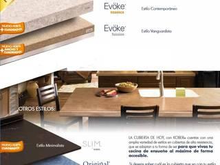 modern  oleh Mystica Cocinas y Closets, Modern