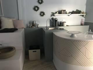 BARRA Espacios comerciales de estilo clásico de Mulizh Decor Studio Clásico Concreto