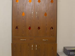 Mr. Shankar's Apartment @ Tambaram:   by Ajith interiors,