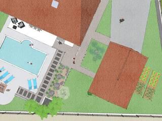 Projet Paysager Saubusse 40180. Landes. Conseils en aménagement paysagés Intérieurs/Extérieurs Jardin moderne