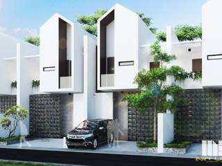 Cluster Jakarta Ruang Komersial Minimalis Oleh MBartliving Minimalis