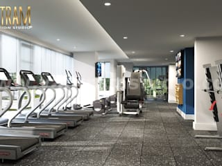 Gym by Yantram Architectural Design Studio,