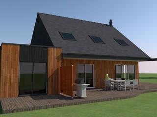 maison bois par KER I.M.M.O. Classique