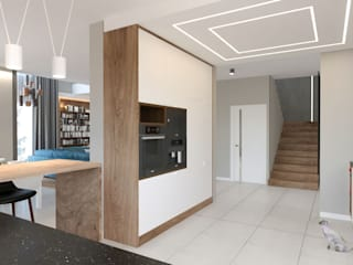 GACKOWSKA DESIGN Built-in kitchens