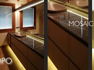 Trasformazione di un bagno Bagno minimalista di Alessandra Vellata Architetto Minimalista