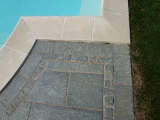Risistemazione di una piscina di Alessandra Vellata Architetto Rustico