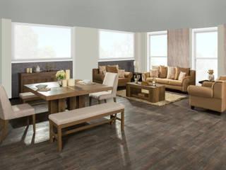 Muebles Dico, una marca mexicana que es más que muebles: Salas de estilo  por Muebles Dico, Moderno