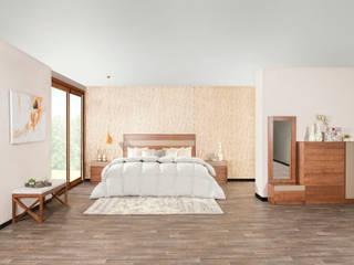Muebles Dico, una marca mexicana que es más que muebles: Recámaras pequeñas de estilo  por Muebles Dico, Moderno