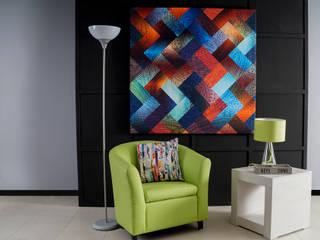 Como crear ambientes con iluminación: Salas de estilo  por Muebles Dico, Moderno