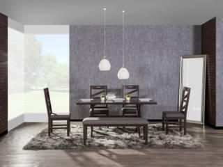 Como crear ambientes con iluminación: Comedores de estilo  por Muebles Dico, Moderno
