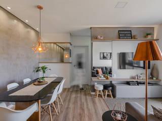 Apê do Junior e do Maicon Cozinhas modernas por iM2 arquitetura Moderno