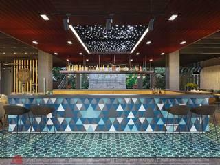 Thiết kế nội thất quán Ecopark Saigon Coffee & Restaurant Thiết Kế Nội Thất - ARTBOX Hành lang, sảnh & cầu thang phong cách hiện đại