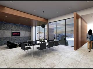 Modern living room by Geometrica Arquitectura Modern