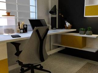 DSR WHITE WATER's Apartment Interiors @Bengaluru: minimalist  by MARCH STUDIO,Minimalist