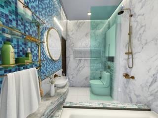 아시아스타일 욕실 by bekal interior 한옥