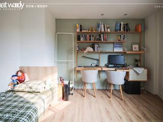 201905_板橋住宅:   by 華伍迪木地板工程 whatwoody floor,
