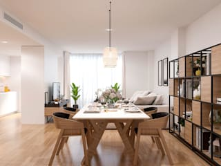 Living room by Proyecto 3D Valencia Renders Animaciones 3D Infografias Online, Modern