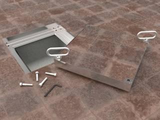 Tapas para piso a nivel:  de estilo  por Tanke,