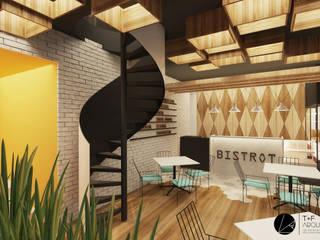 Nhà hàng theo T+F Arquitectos, Hiện đại
